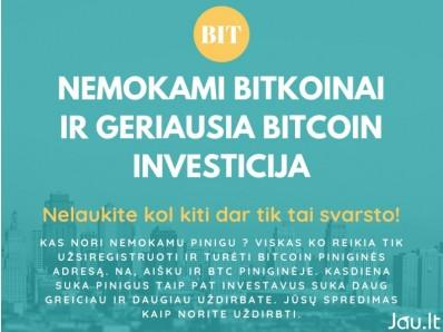 bitcoin brokerio palaikymas nelaukite, kol investuosite į bitkoiną